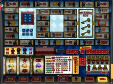 copsnrobbers deluxe - Play our Fruitmachines Fullscreen for Free