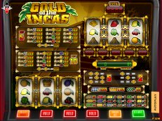 gold of the incas - Play our Fruitmachines Fullscreen for Free